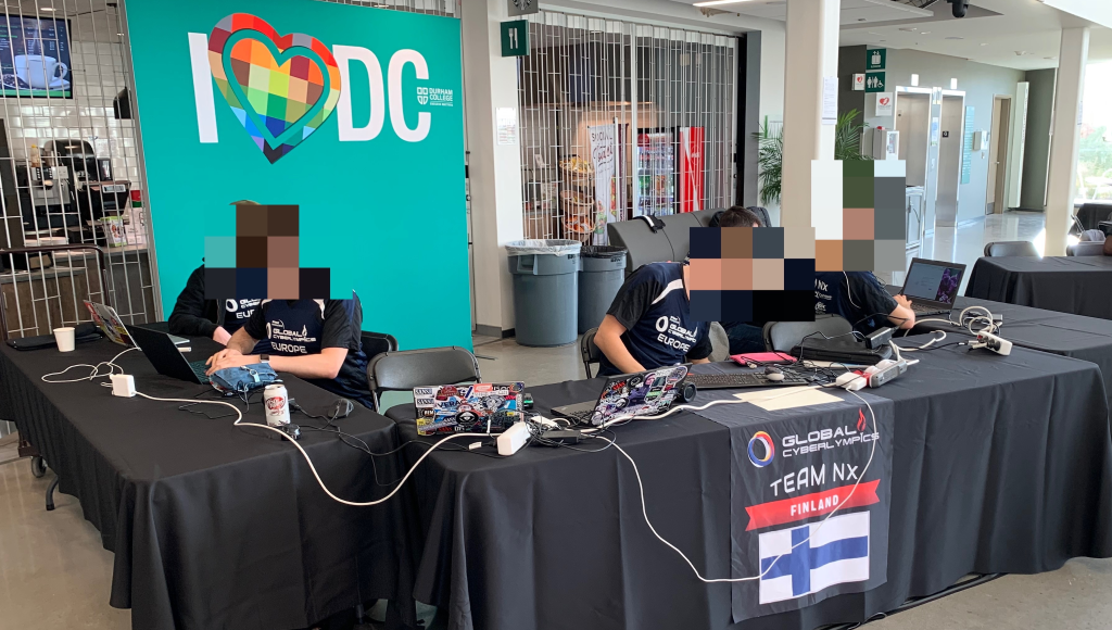 Our team spot in the Cyberlympics 2019 finals was not good at first.