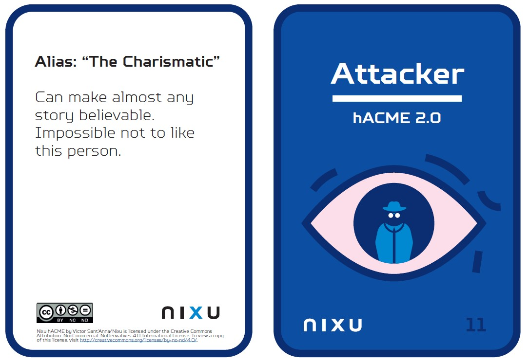 hacme-attacker social engineering cards