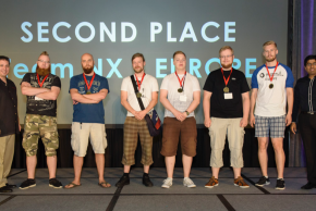 Silve-winning Team NX at the Global CyberLympics World Finals